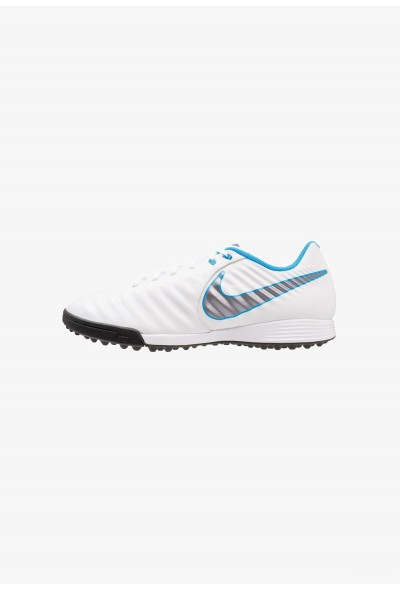 Nike LEGENDX 7 ACADEMY TF - Chaussures de foot multicrampons white/chrome/blue hero liquidation