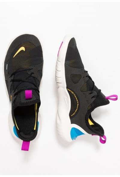 Black Friday 2020 | Nike FREE RN 5.0 - Chaussures de running neutres black/laser orange/blue hero/hyper violet/summit white liquidation