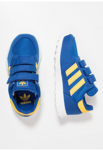 Adidas FOREST GROVE - Baskets basses core royal/bold gold/blue pas cher