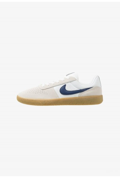 Nike TEAM CLASSIC - Baskets basses summit white/blue void/white/light brown liquidation