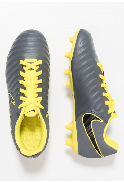 Nike TIEMPO LEGEND 7 CLUB MG - Chaussures de foot à crampons dark grey/opti yellow/black liquidation