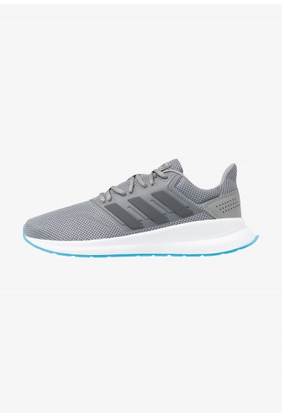 Adidas Chaussures de running neutres grey three/grey six/shock cyan pas cher