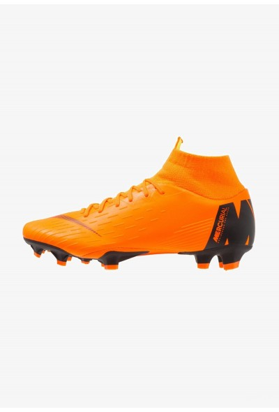 Nike MERCURIAL 6 PRO FG - Chaussures de foot à crampons total orange/white/volt liquidation