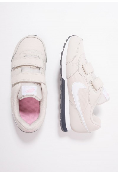 Nike MD RUNNER 2 - Baskets basses desert sand/white/pink/gridiron liquidation