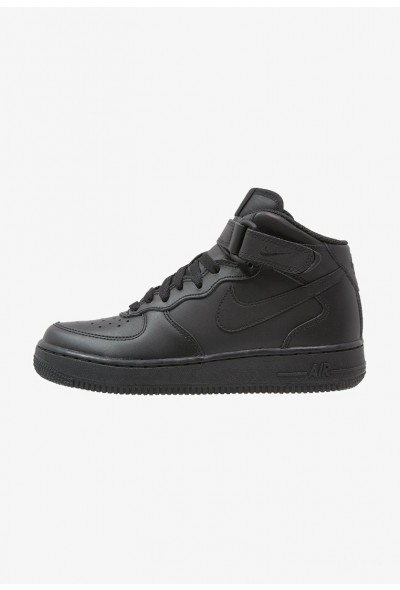 Nike AIR FORCE 1 - Baskets montantes noir liquidation