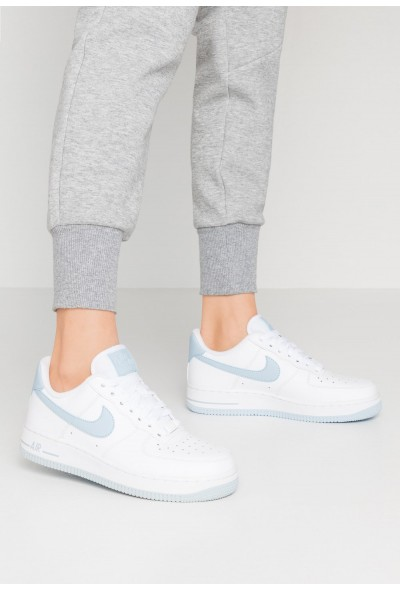 Nike AIR FORCE 1'07 - Baskets basses white/light armory blue liquidation