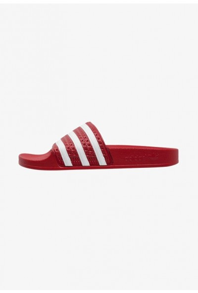 Black Friday 2020 | Adidas ADILETTE - Sandales de bain light scarlet/white pas cher