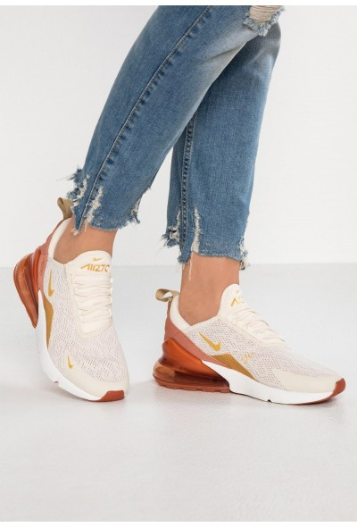 Black Friday 2020 | Nike AIR MAX 270 - Baskets basses light cream/metallic gold/terra blush/dusty peach/platinum tint liquidation