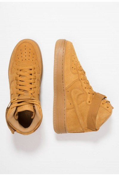Nike AIR FORCE 1 LV8 - Baskets montantes wheat/light brown liquidation