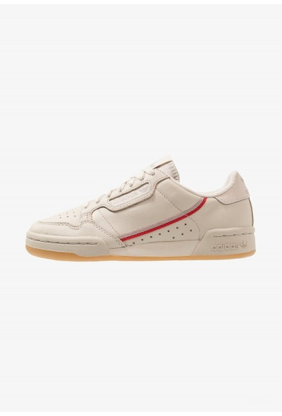 Adidas CONTINENTAL 80 - Baskets basses clear brown/scarlet/ecru tint pas cher