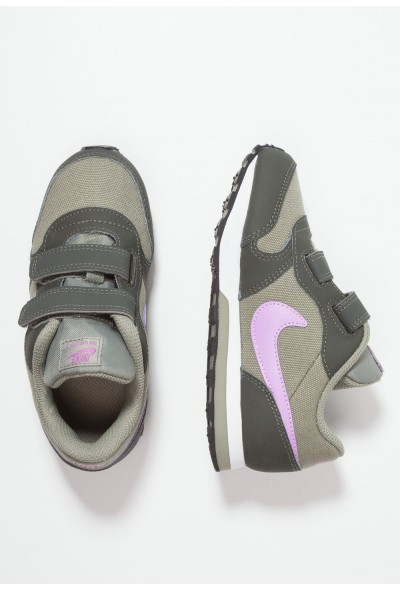 Black Friday 2020 | Nike MD RUNNER 2  - Chaussures premiers pas dark stucco/fuchsia glow/newsprint/white liquidation