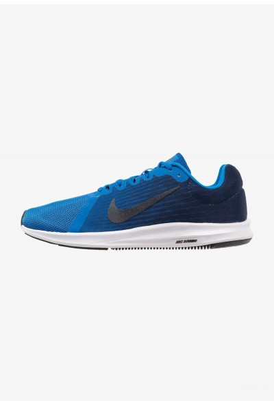 Nike DOWNSHIFTER 8 - Chaussures de running neutres anthracite/black/equator blue liquidation