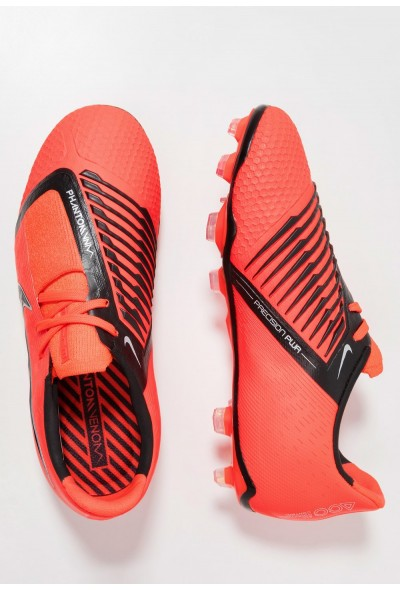 Nike PHANTOM ELITE FG - Chaussures de foot à crampons bright crimson/black/metallic silver liquidation