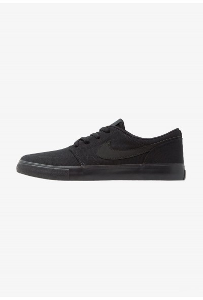 Nike PORTMORE II SS CNVS - Baskets basses black liquidation