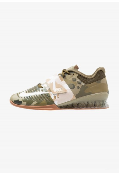 Nike ROMALEOS 3 - Chaussures d'entraînement et de fitness olive canvas/sail/neutral olive/medium brown liquidation