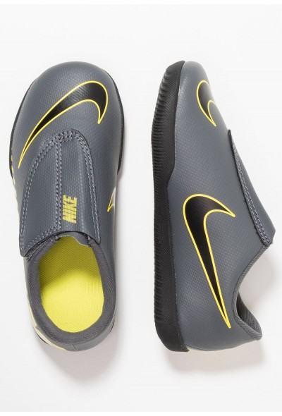 Nike MERCURIAL VAPORX 12 CLUB PS IC - Chaussures de foot en salle dark grey/black/opti yellow liquidation