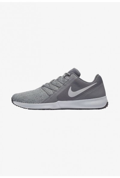 Black Friday 2020 | Nike VARSITY COMPETE  - Chaussures d'entraînement et de fitness dark grey/black/metallic silver liquidation