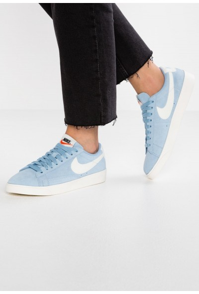Nike BLAZER LOW SD - Baskets basses leche blue/sail liquidation