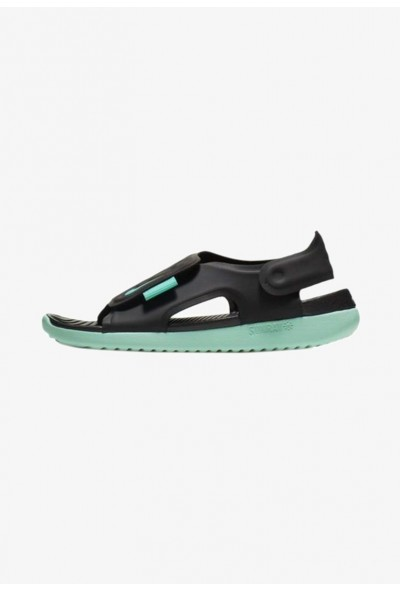 Black Friday 2020 | Nike SUNRAY ADJUST 5 - Sandales de randonnée black/mint liquidation
