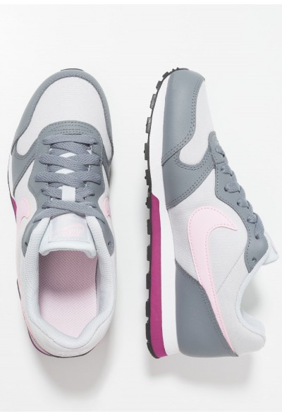 Nike MD RUNNER  - Baskets basses pure platinum/pink foam/cool grey/true berry liquidation