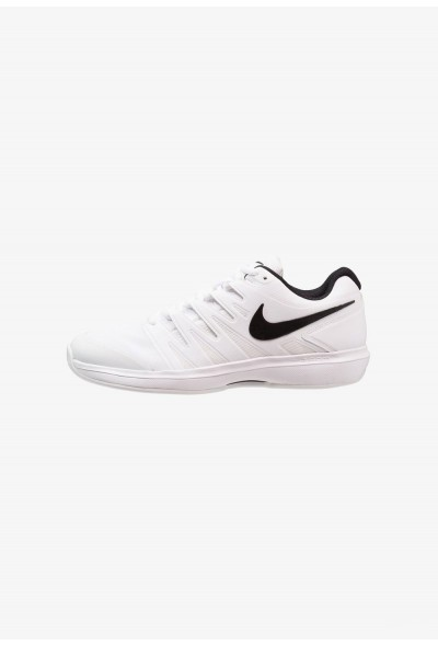 Nike AIR ZOOM PRESTIGE CLY - Chaussures de tennis sur terre battue white/black liquidation