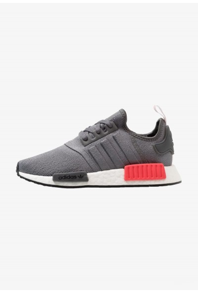 Adidas NMD_R1 - Baskets basses grey four/shock red pas cher