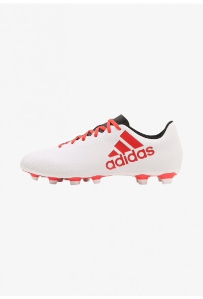 Adidas X 17.4 FXG - Chaussures de foot à crampons grey/real coral/core black pas cher