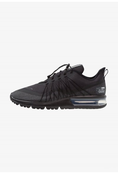 Black Friday 2019 | Nike AIR MAX SEQUENT 4 UTILITY - Chaussures de running neutres black/anthracite/white liquidation