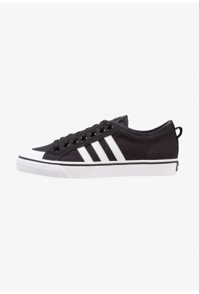 Black Friday 2020 | Adidas NIZZA - Baskets basses core black/footwear white pas cher
