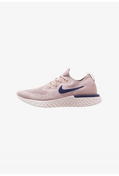 Black Friday 2020 | Nike EPIC REACT FLYKNIT - Chaussures de running neutres diffused taupe/blue void/phantom/crimson tint liquidation