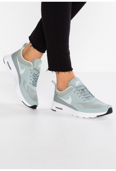 Black Friday 2020 | Nike AIR MAX THEA - Baskets basses mica green/light silver liquidation