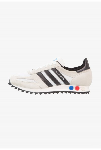 Adidas LA TRAINER OG - Baskets basses vintage white/core black/clear brown pas cher