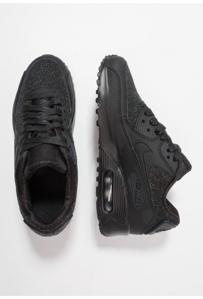 Nike AIR MAX 90 SE MESH (GS) - Baskets basses black/anthracite liquidation