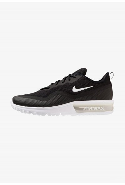 Black Friday 2020 | Nike AIR MAX SEQUENT 4.5 - Chaussures de running neutres black/white liquidation