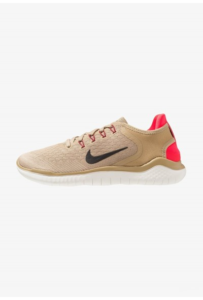 Black Friday 2020 | Nike FREE RN 2018 - Chaussures de course neutres - parachute beige/black parachute beige/black-/ed orbit/desert ore/sail liquidation