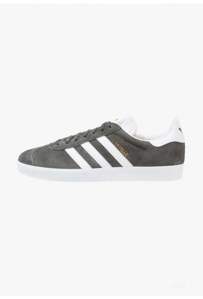 Black Friday 2019 | Adidas GAZELLE - Baskets basses solid grey/white/gold metallic pas cher