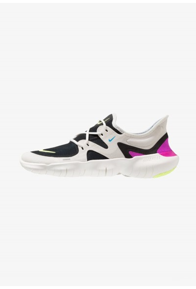 Nike FREE RN 5.0 - Chaussures de course neutres summit white/volt glow/black/blue hero liquidation