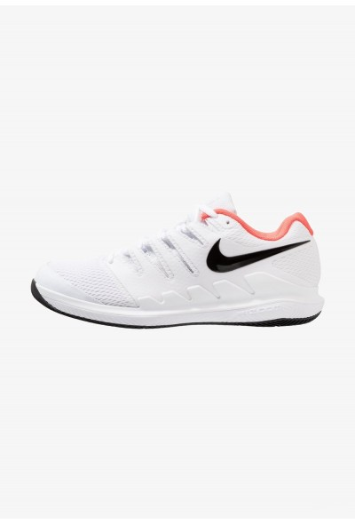Black Friday 2020 | Nike AIR ZOOM VAPOR X HC - Baskets tout terrain white/black/bright crimson liquidation