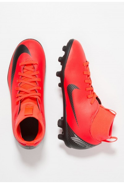 Black Friday 2020 | Nike CLUB CR7 MG - Chaussures de foot à crampons bright crimson/black/chrome liquidation