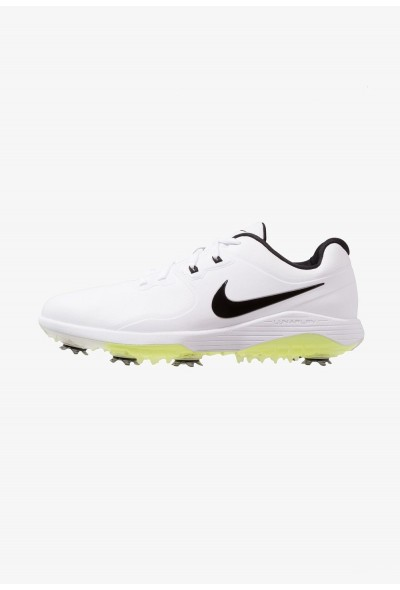 Nike VAPOR PRO - Chaussures de golf white/black/volt liquidation