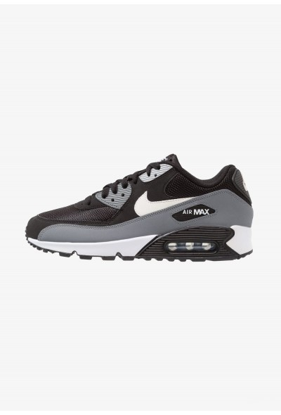 Nike AIR MAX 90 ESSENTIAL - Baskets basses black/white/cool grey/anthracite/wolf grey liquidation