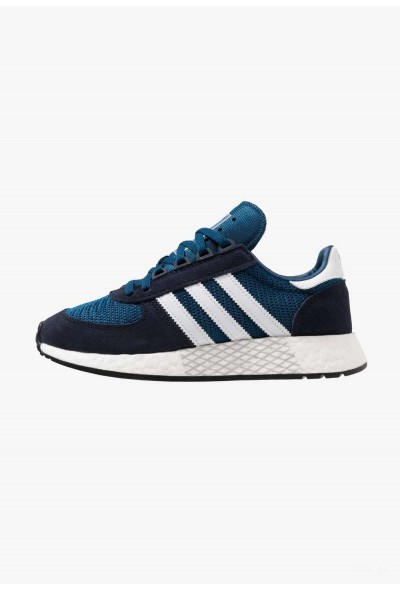 Adidas MARATHON TECH - Baskets basses legend ink/footwear white/legend marine pas cher