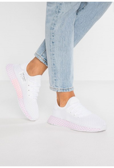 Adidas DEERUPT - Baskets basses footwear white/clear lila pas cher