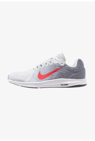 Nike DOWNSHIFTER 8 - Chaussures de running neutres pure platinum/habanero red/black/white liquidation