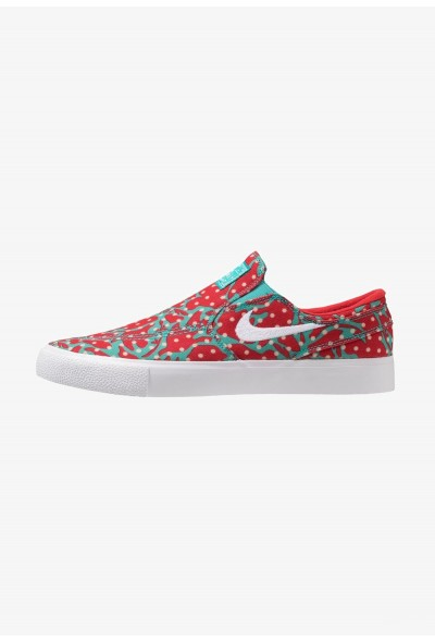 Nike ZOOM JANOSKI - Mocassins cabana/white/desert ore/university red/light brown liquidation