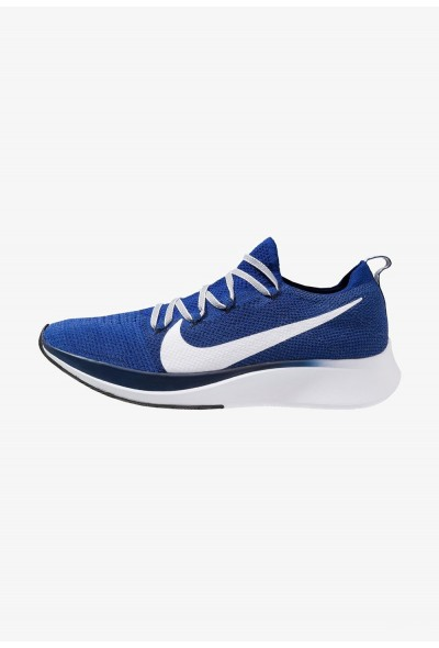 Black Friday 2020 | Nike ZOOM FLY FK - Chaussures de running neutres deep royal/white/blue void liquidation