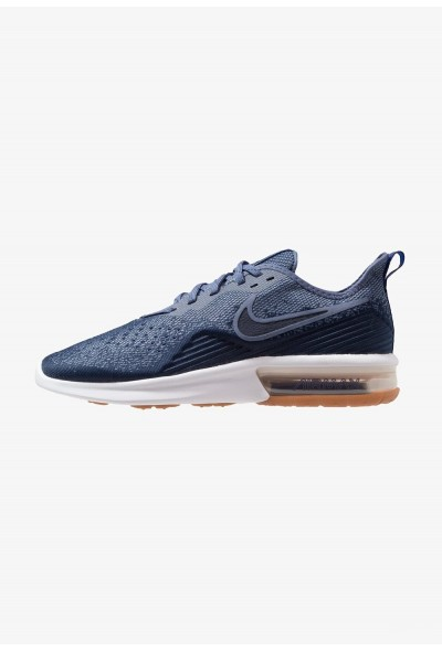 Cadeaux De Noël 2019 Nike AIR MAX SEQUENT 4 - Chaussures de running neutres midnight navy/obsidian/diffused blue/hyper royal/white liquidation