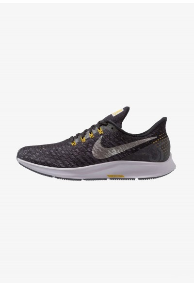 Black Friday 2020 | Nike AIR ZOOM PEGASUS 35 - Chaussures de running neutres black/metallic pewter/gridiron/peat moss/provence purple liquidation
