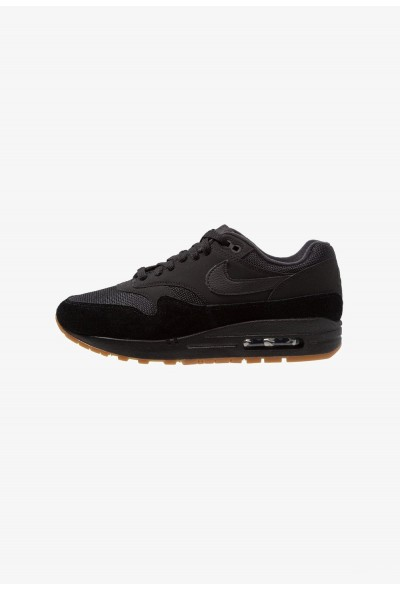 Black Friday 2020 | Nike AIR MAX 1 - Baskets basses black/medium brown liquidation