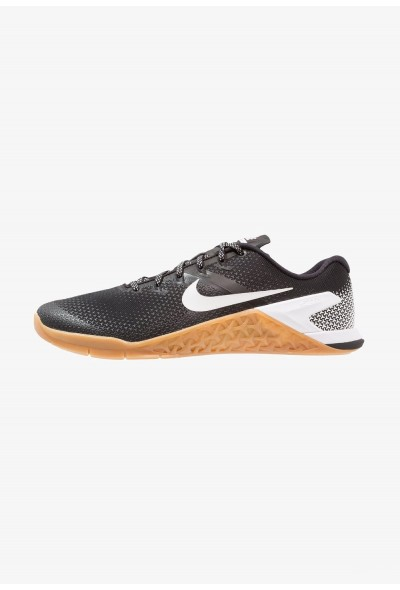 Black Friday 2020 | Nike METCON 4 - Chaussures d'entraînement et de fitness black/white/medium brown liquidation